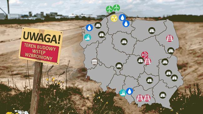 Co obiecał rząd za 300 miliardów złotych? Na mapie nie tylko CPK i elektrownia jądrowa