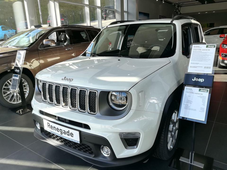 Nowy Jeep Renegade w salonie Auto Plus w Gdańsku