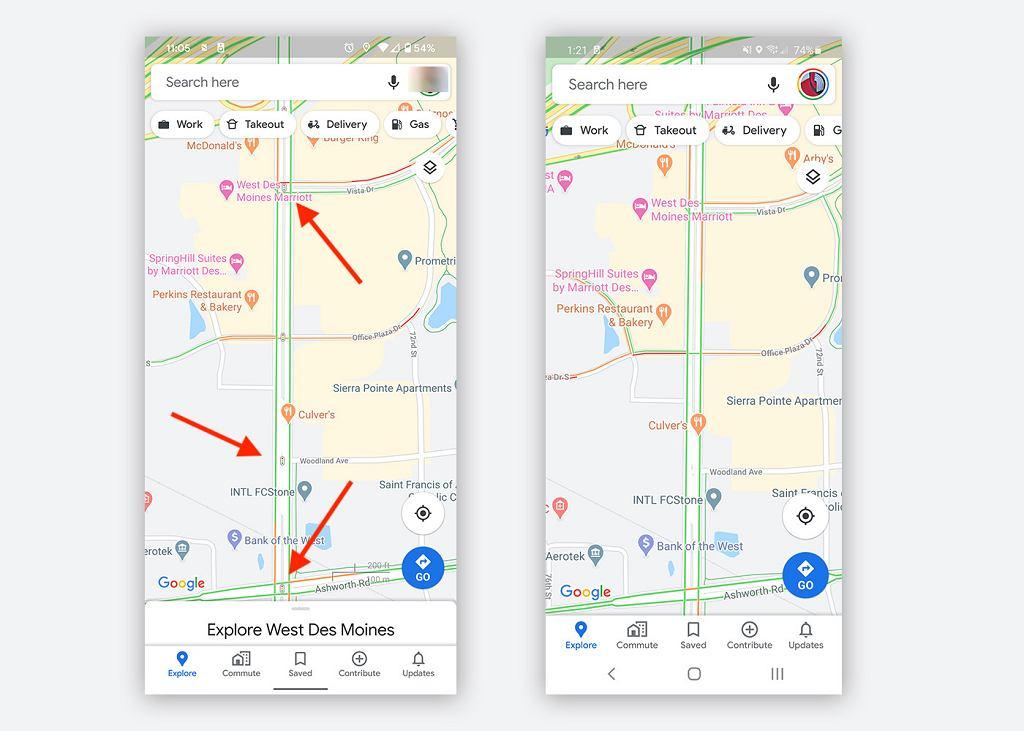 Google testuje funkcję sygnalizacji świetlnej w mapach