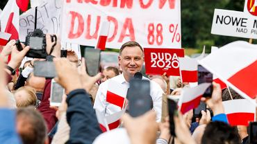 Andrzej Duda w Odrzywole