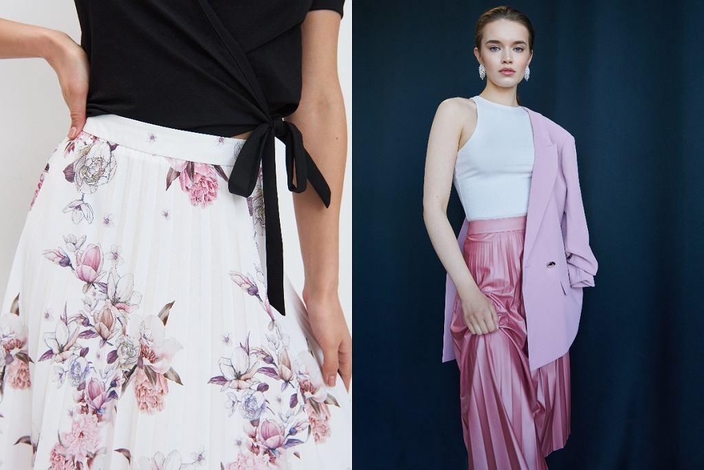Rozkloszowane spódnice w eleganckim stylu