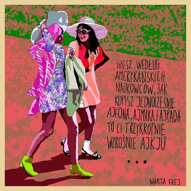 Zdjęcie numer 201 w galerii - Marta Frej rysuje dla