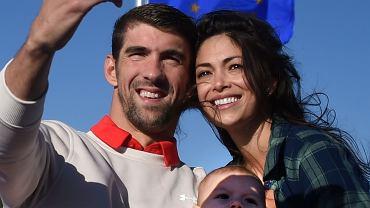 Michael Phelps z żoną
