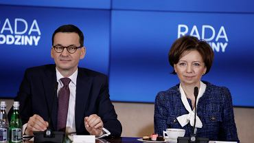 Mateusz Morawiecki i Marlena Maląg