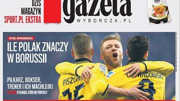 Magazyn Sport.pl Ekstra co poniedziałek w ''Gazecie Wyborczej''