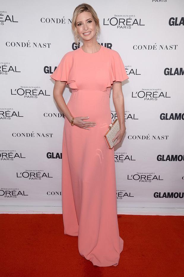 Ivanka Trump w ciąży Annual Glamour Women of the Year Awards 2015