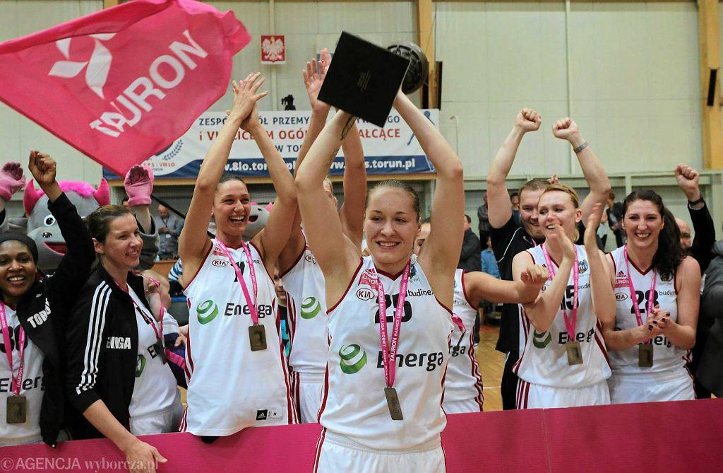 Koszykarki Energi Toruń w sezonie 2015.