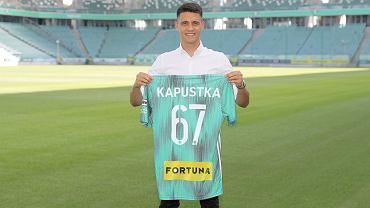 Bartosz Kapustka piłkarzem Legii