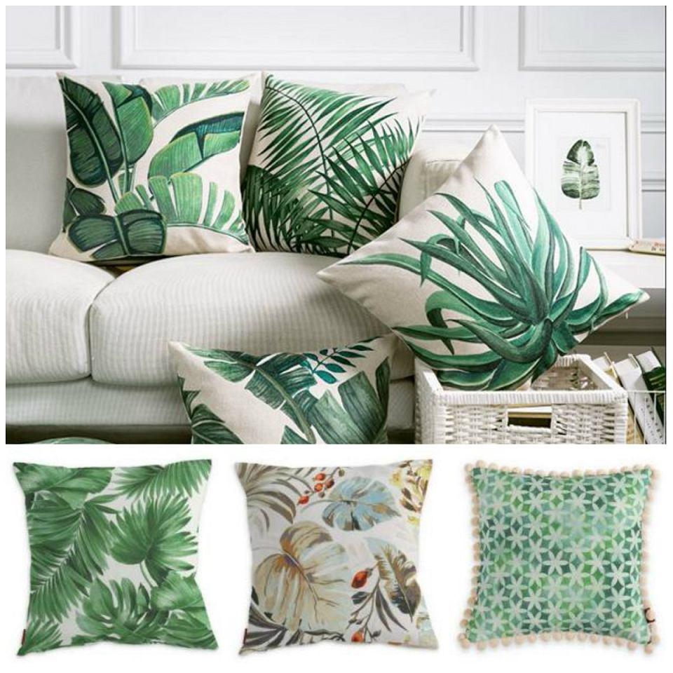 Poduszki w egzotyczne wzory