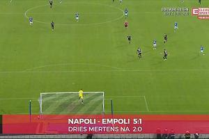 TOP 5 goli Serie A. Empoli rozgromione przez Napoli. Hat trick Mertensa [ELEVEN SPORTS]