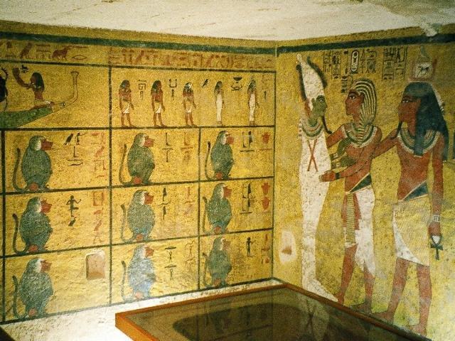 Grobowiec Tutenhamona w Dolinie Królów w Egipcie