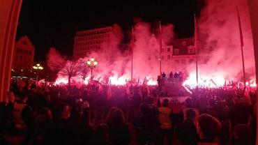 Wrocławski marsz narodowców został rozwiązany
