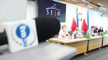 27.07.2021 Warszawa, Posiedzenie sejmowej Komisji Kultury i Środków Przekazu dot. m.in. ustawy Lex TVN',