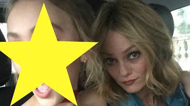 Lily Rose Depp i Vanessa Paradis