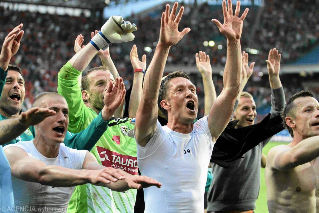 Po meczu z Krakowie Śląsk świętował mistrzostwo. Czy teraz też będzie się cieszył