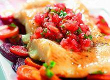 Pieczony stek z halibuta - ugotuj