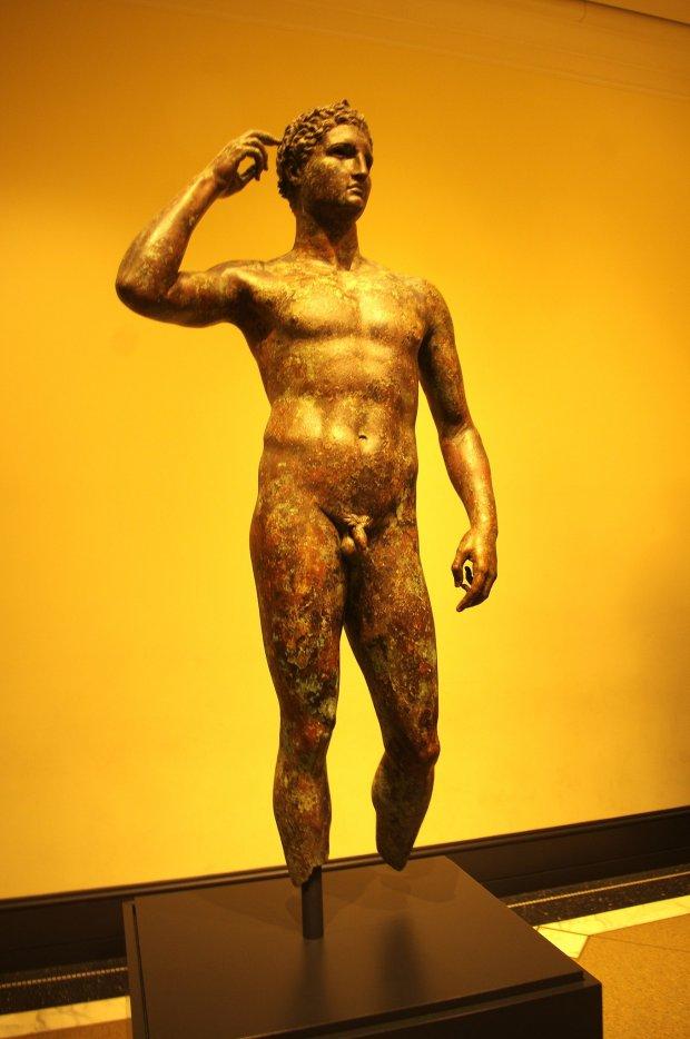Rzeźba z brązu.