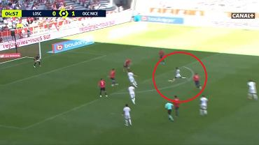 Gol dla Nicei w meczu z OSC Lille