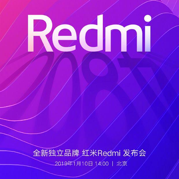 Redmi zaprezentuje pierwszego smartfona już 10 stycznia