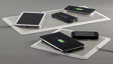Energysquare - podkładka do bezprzewodowego ładowania każdego telefonu