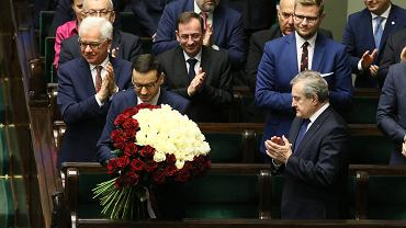 Expose premiera rządu PiS Mateusza Morawieckiego. 1 posiedzenie Sejmu X Kadencji, Warszawa, 19 listopada 2019