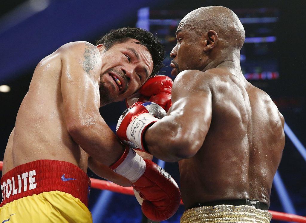 Floyd Mayweather Jr. vs. Manny Pacquiao. Las Vegas, 2 maja 2015
