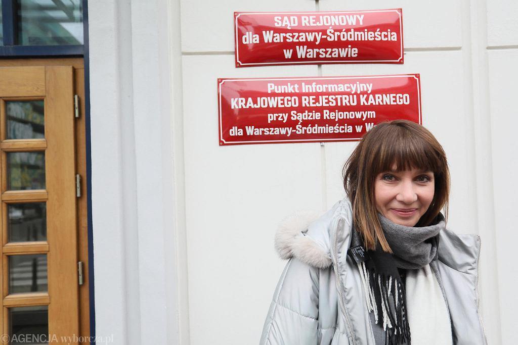Grażyna Wolszczak wygrała ze skarbem państwa w sprawie o smog