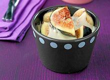 Świeże figi z mascarpone - ugotuj