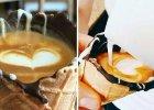 Kawa podawana w rożku czekoladowym? Internauci oszaleli na jej punkcie