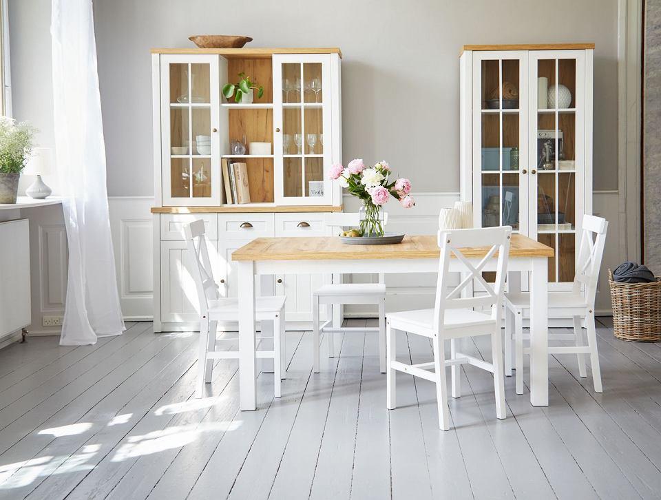 Krzesło do kuchni lub jadalni EJBY białe