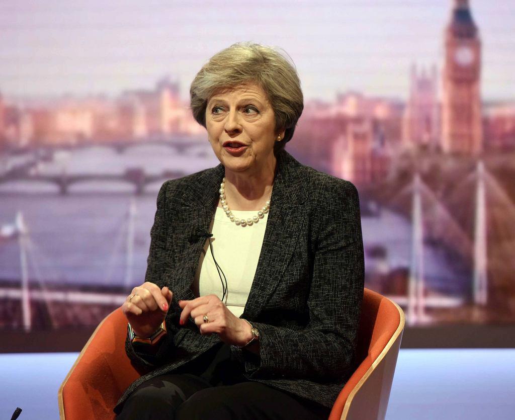 Theresa May w BBC