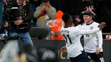 Danny Welbeck i Wayne Rooney