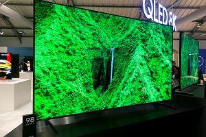 Samsung prezentuje nową serię telewizorów QLED. Jeden z nich ma aż 98 cali i rozdzielczość 8K