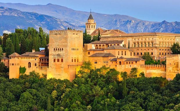 Najpiękniejszy pałac Orientu. Alhambra [HISZPANIA]