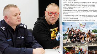 Jerzy Owskiak po spotkaniu u wojewody lubuskiego