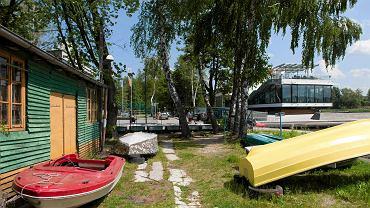 Przystań harcerska Bryza nad Jeziorem Ukiel w Olsztynie