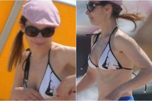 Agnieszka Dygant kilka dni temu wypoczywała na plaży w Juracie. Aktorka była na wakacjach z partnerem, Patrickiem Yoką i ich 6-letnim synem, Xawerym. 43-latka w bikini wyglądała świetnie! Sami zobaczcie.
