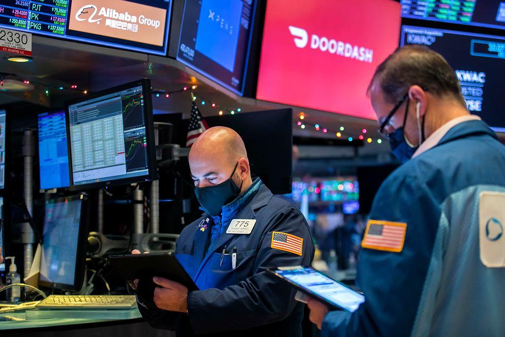Financial Markets Wall Street DoorDash IPO