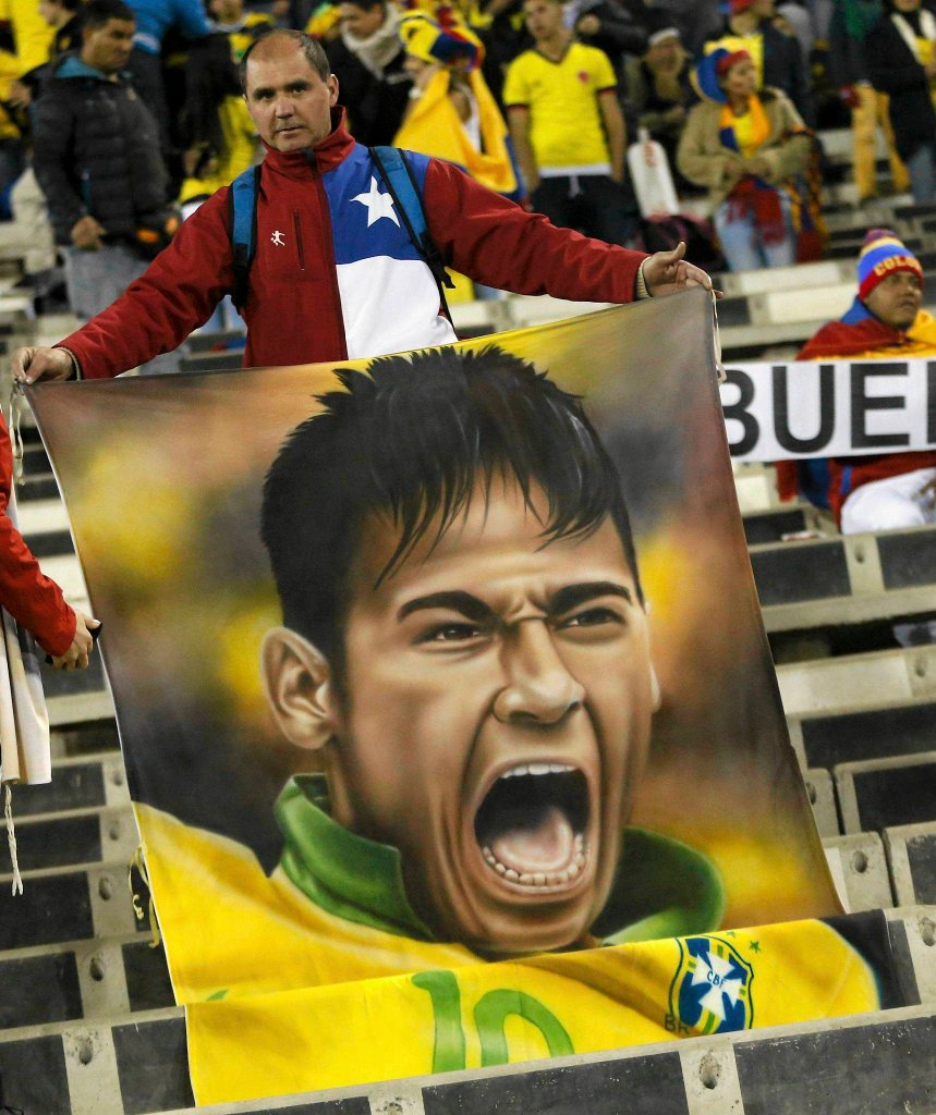 Kibic Neymara