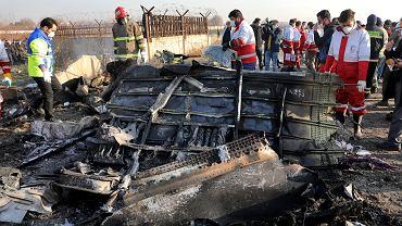Katastrofa PS752 w Iranie