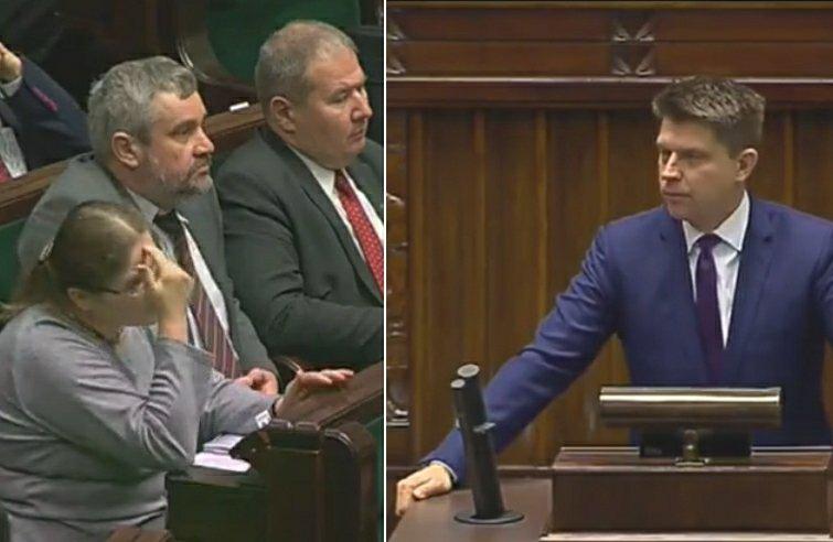 Krystyna Pawłowicz i Ryszard Petru