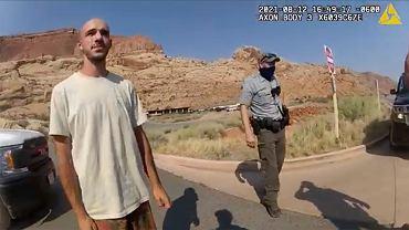 Brian Laundrie na nagraniu policji. Razem z Gabby zostali zatrzymani ws. podejrzenia przemocy domowej