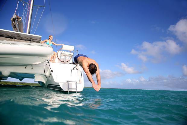 Rejs po Karaibach, katamaran, podróże