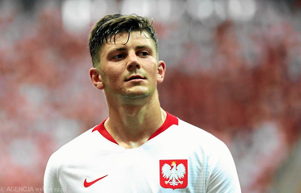 Dawid Kownacki zagrał na mistrzostwach świata w Rosji