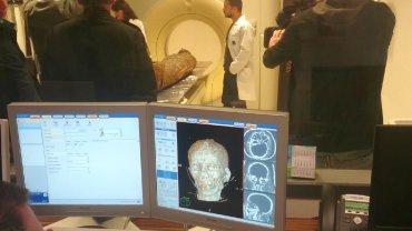 Skanowanie mumii