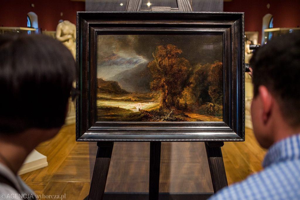 Słynny obraz Rembrandta będzie wystawiony w Łazienkach Królewskich. Można go oglądać do maja