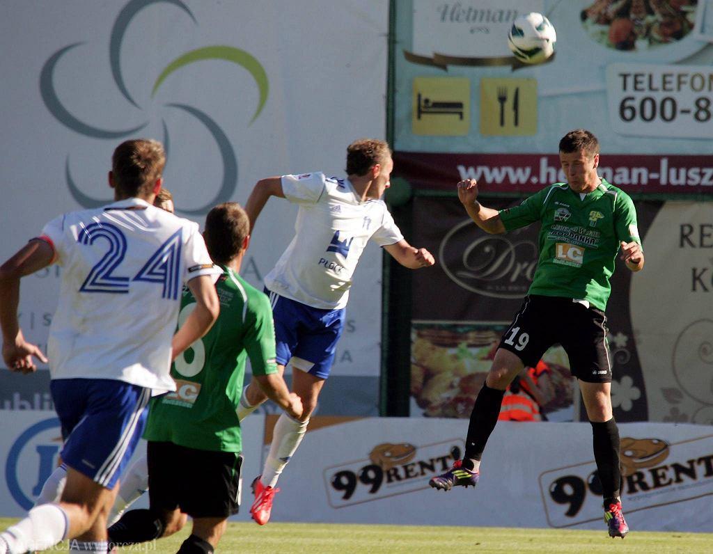 W akcji Lukas Bielak ( w zielonej koszulce)