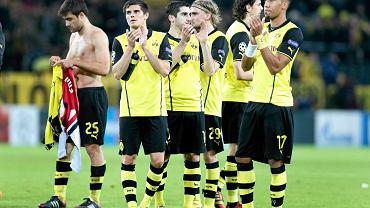 Piłkarze Borussii po meczu