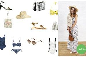 C&A: plażowe akcesoria (bikini, kostiumy, buty, torebki, kapelusze)