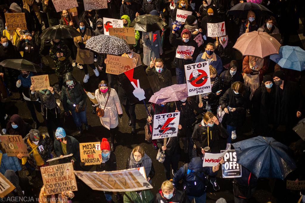 Protesty ws. wyroku TK dot. aborcji